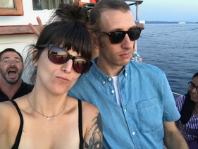 Logan et moi avec nos regards Blue Steel